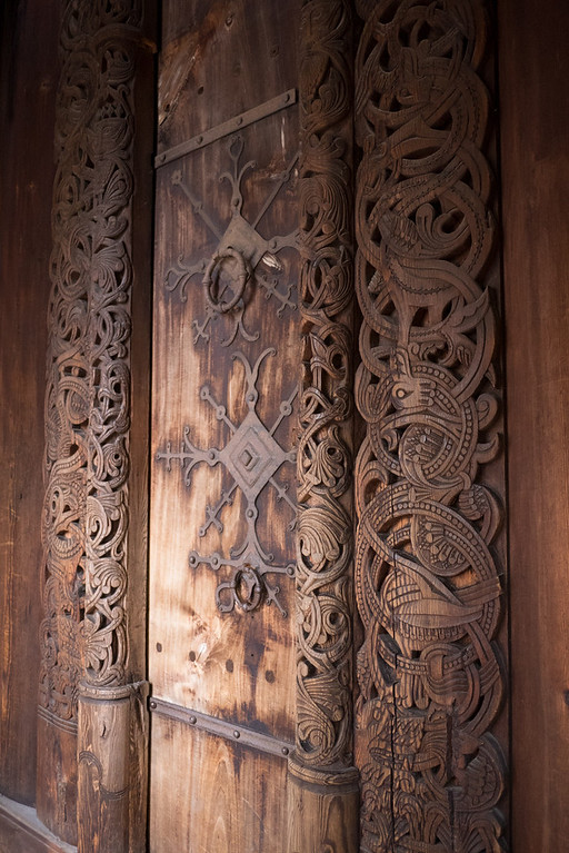 Stave Church Door